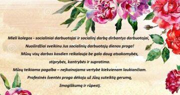 Rugsėjo 27 d. – Lietuvos socialinių darbuotojų diena